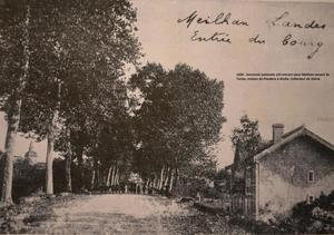 Ancienne nationale 124 en 1920